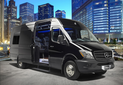 Mercedes Sprinter Limo from San Francisco to Napa